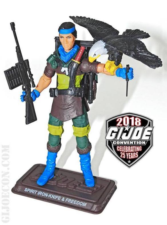 GIJoeCon 2018 Slaughter's Marauders Spirit and Freedom