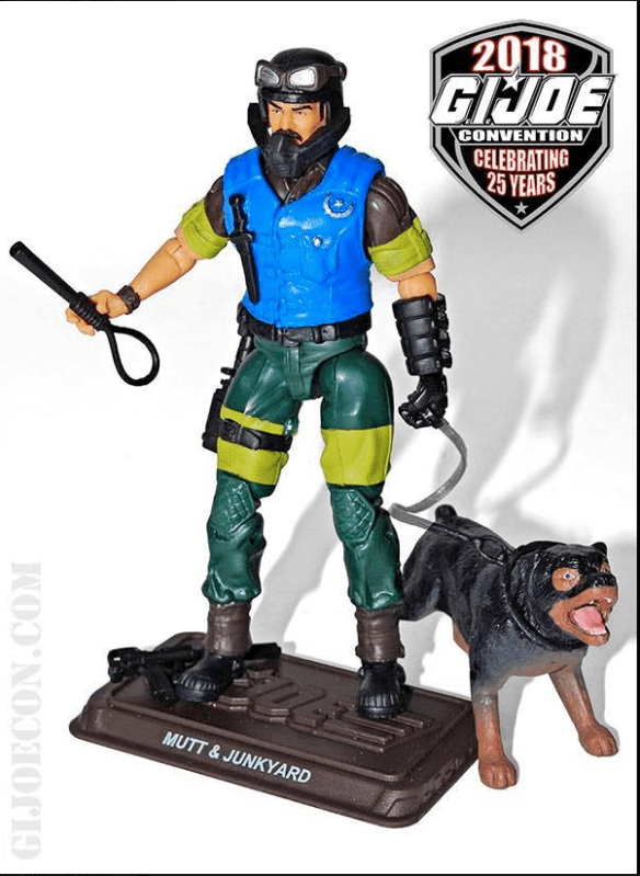 GIJoeCon 2018 Slaughter's Marauders Mutt