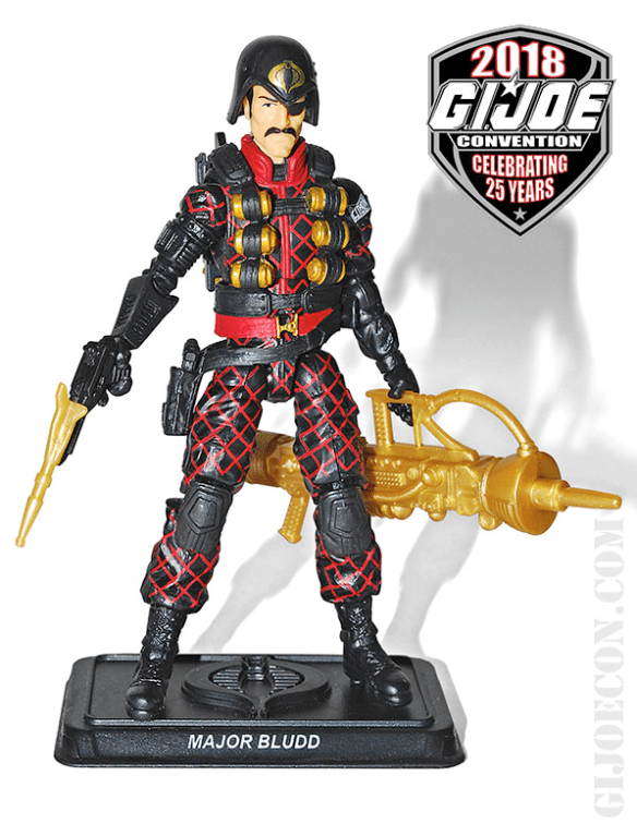 GIJoeCon 2018 Python Patrol Major Bludd front