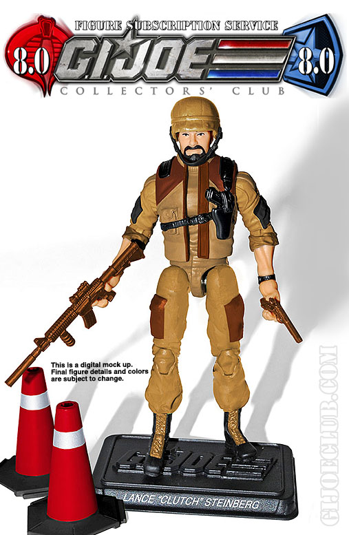 G.I. Joe Collector's Club FSS 8 Desert Clutch