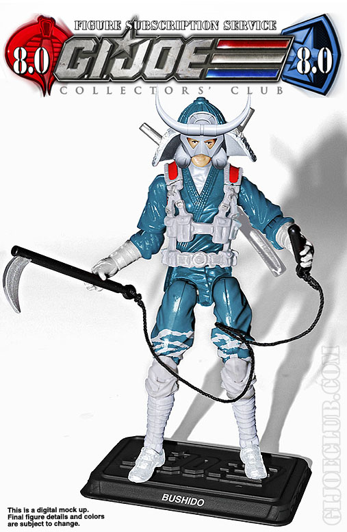 G.I. Joe Collector's Club FSS 8 Bushido