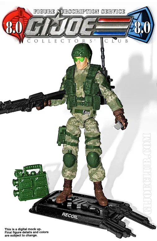 G.I. Joe Collector's Club FSS 8 Recoil