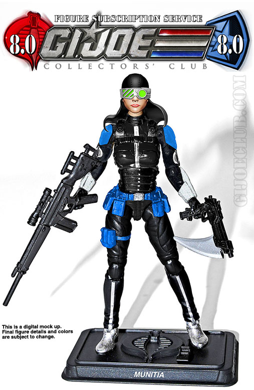G.I. Joe Collector's Club FSS 8 Munitia