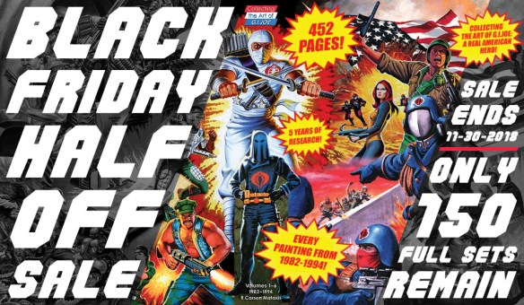50% off Black Friday sale on Collecting the Art of G.I. Joe from 3DJoes.com.
