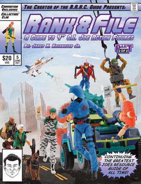 G.I. Joe Rank and File volume 5 cover