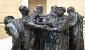 Burghers of Calais - another view