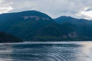 Inside Passage at Dusk