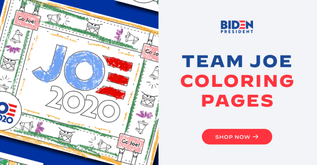 Coloring Pages - Joe Biden for President: Official Campaign Website