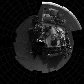 Top down view from NavCam