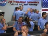Hard earned celebration for team JPL