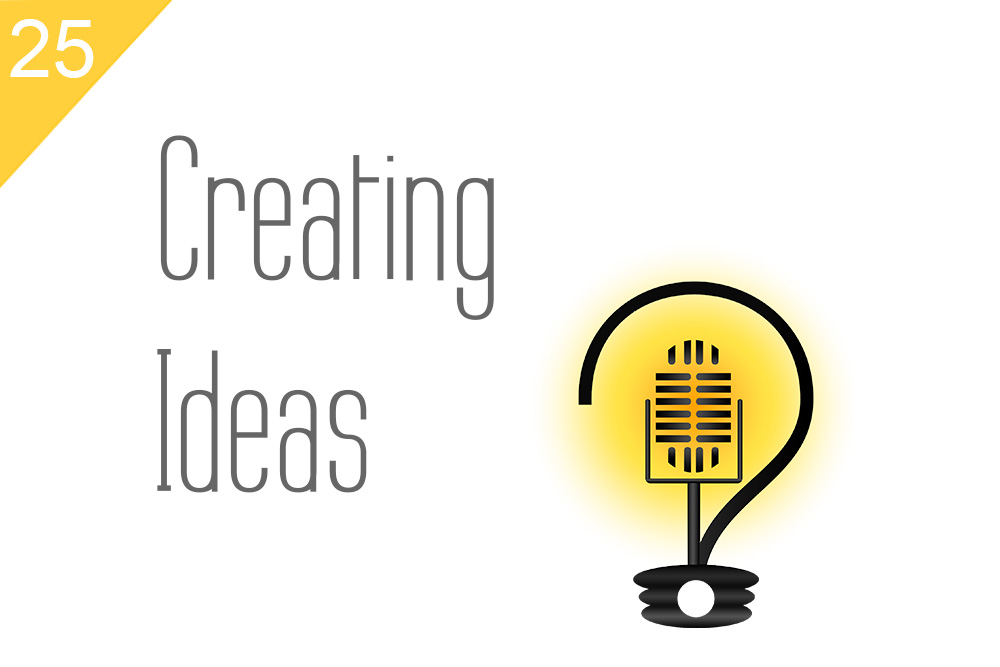 25 creating ideas