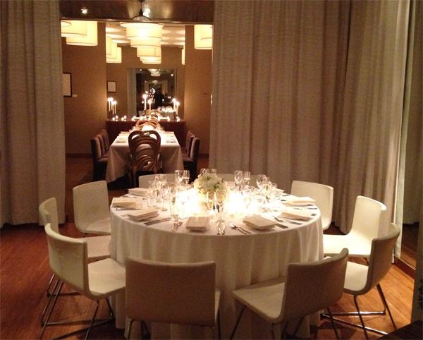 Interior Design New York NYC Joe Cangelosi Wedding Table Design 4