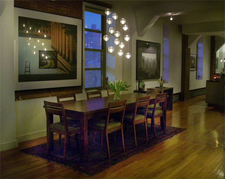 Interior Design New York NYC Joe Cangelosi West Village Loft Dining Room