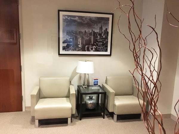 New York Joe Cangelosi NYC Office Design Lobby Seating