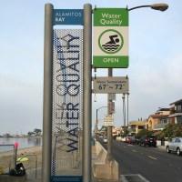 Sunday Swim. Around Naples Island, Long Beach, CA