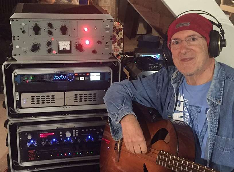 Robert Sanderson with his BLUEBOX BBWR24MP