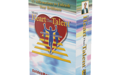 Affirmation Cards More Heart Than Talent Jefferey Combs