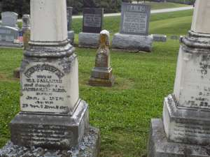 Tanner was buried in Moss Ridge Cemetery, and some pivotal scenes take place there as well