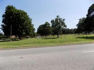 The Rogers cemetery, on Walnut Street