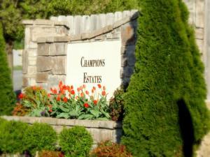 Champions Estates is a fancy-schmancy neighborhood in Rogers