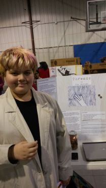 Fletcher DeRouen at the Arkansas Arts Academy Literary Fair 2014