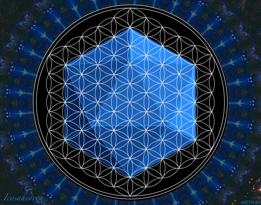 Icosahedron Flower of Life