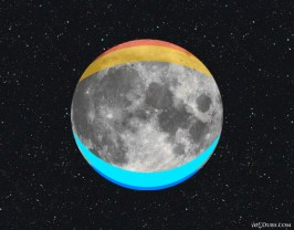 Squint at the Moon and you'll see these colors