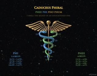 Caduceus Phiral Fibonacci