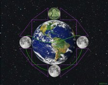 Money Earth and Moon