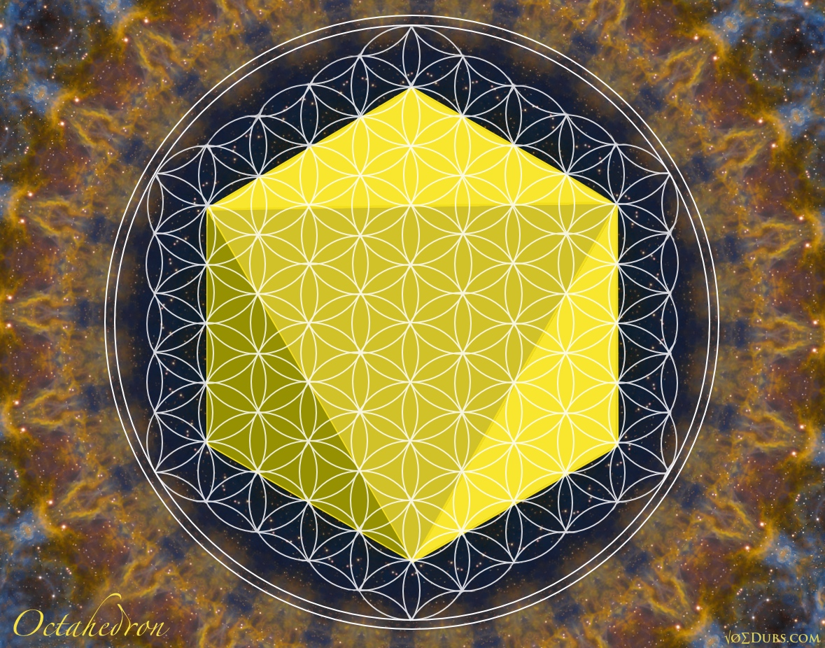 Octahedron Flower of Life