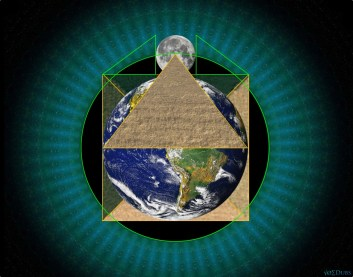 Pyramid Earth Square