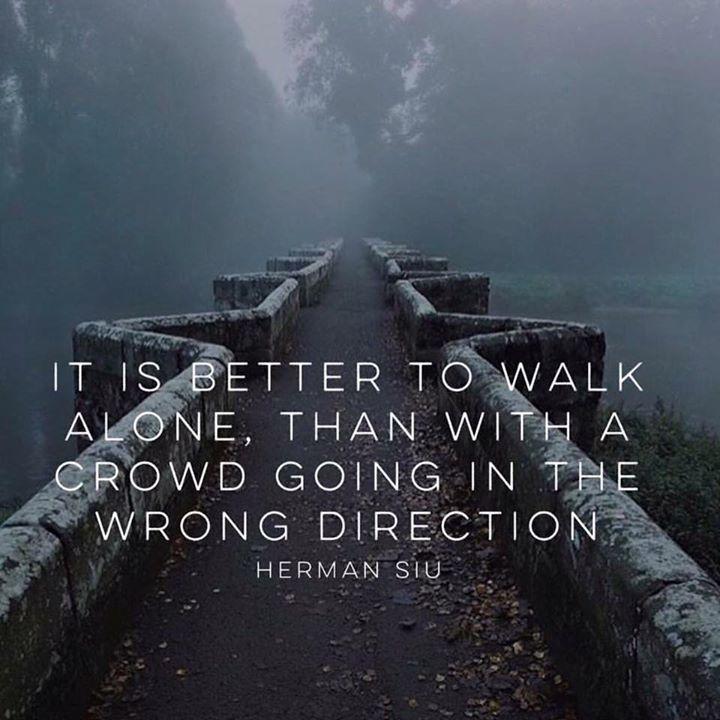 walk alone
