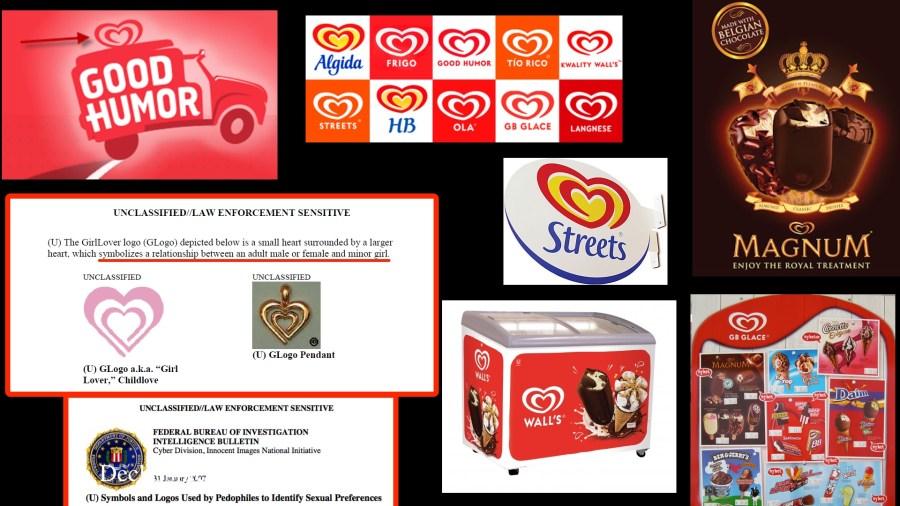 Ice Cream Pedophile Symbols