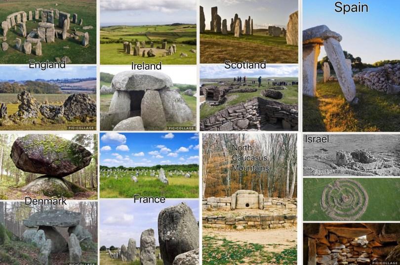 megaliths of Europe joedubs.com