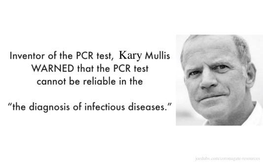 kary mullis pcr rt-pcr coronavirus test