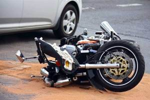 Motorcycle accident in Albany