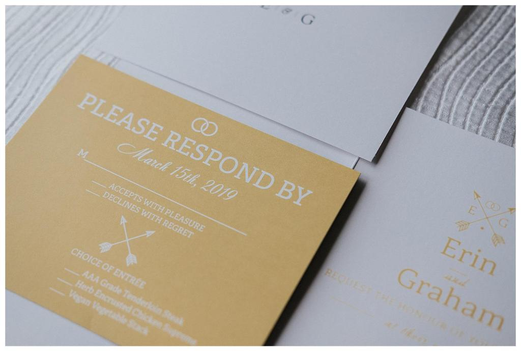Wedding Invite Inspiration | Simple clean invites