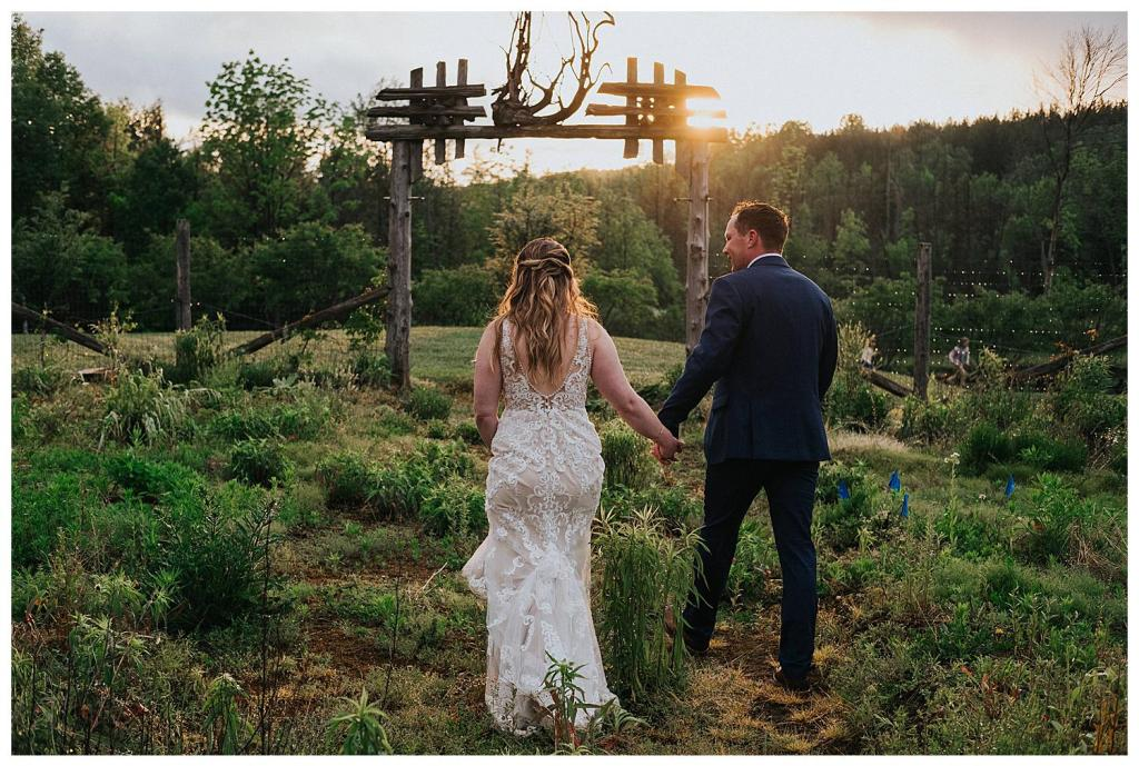 Walking into the sunset | The Special Events Centre Wedding