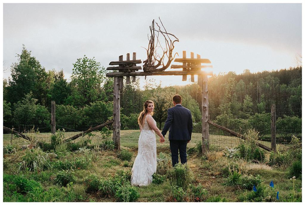 Walking into the sunset | Rustic Wedding Inspiration | The Special Events Centre Wedding