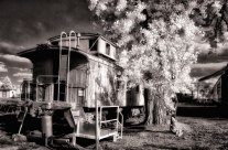 How I Created 'Infrared Caboose'