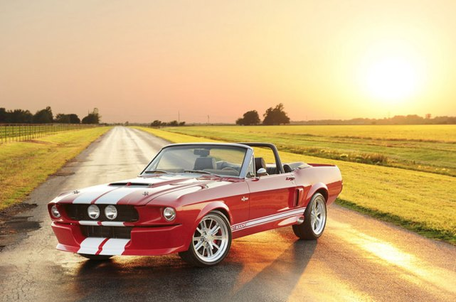Shelby G.T.500CR Convertible