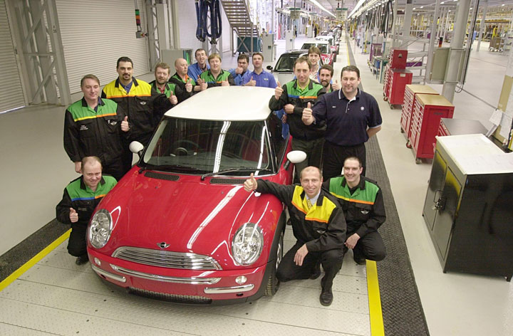 MINI Celebrates 100 Years Making Cars at Oxford