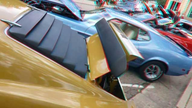 Mustangs in 3D