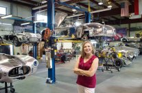 Mary Visits Kirkham Motorsports