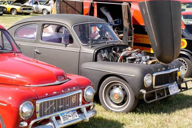 Volvo PV 544 at car show