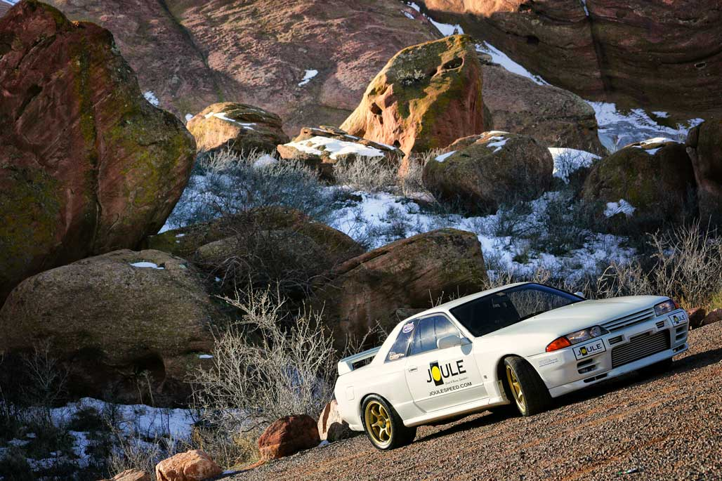 Nissan Skyline GTR at Red Rocks