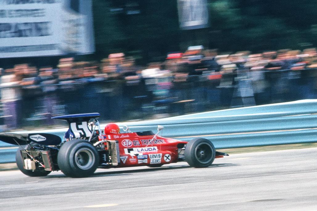 Niki Lauda at Watkins Glen - 1972
