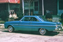 Our Cars: 1963 1/2 Ford Falcon hardtop
