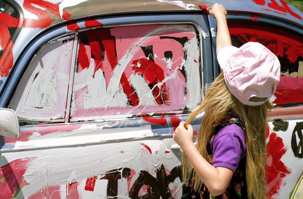 Painting a VW Bug, but Not How You Think