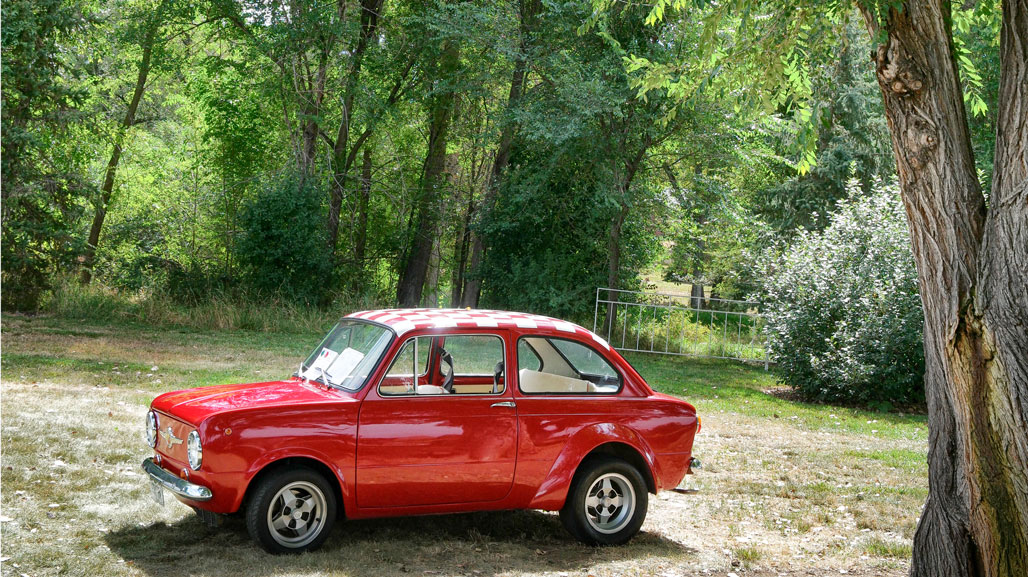 Nostalgia: Photographing the Fiat 850
